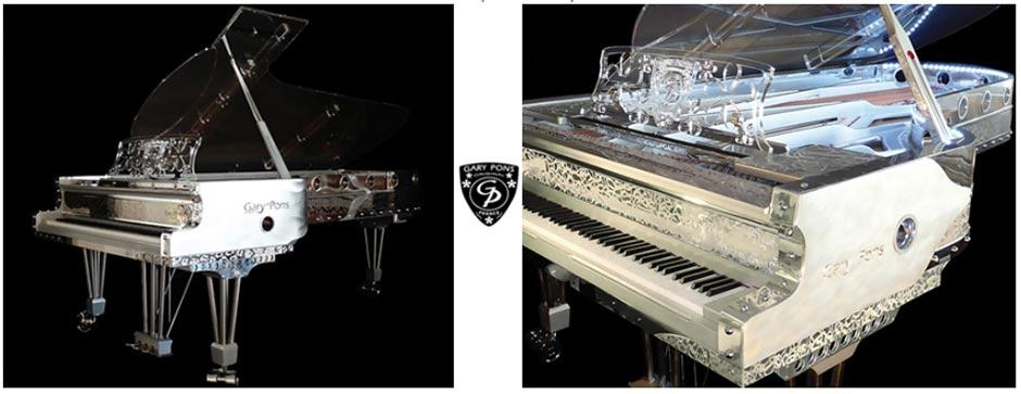 Piano à queue Gary Pons