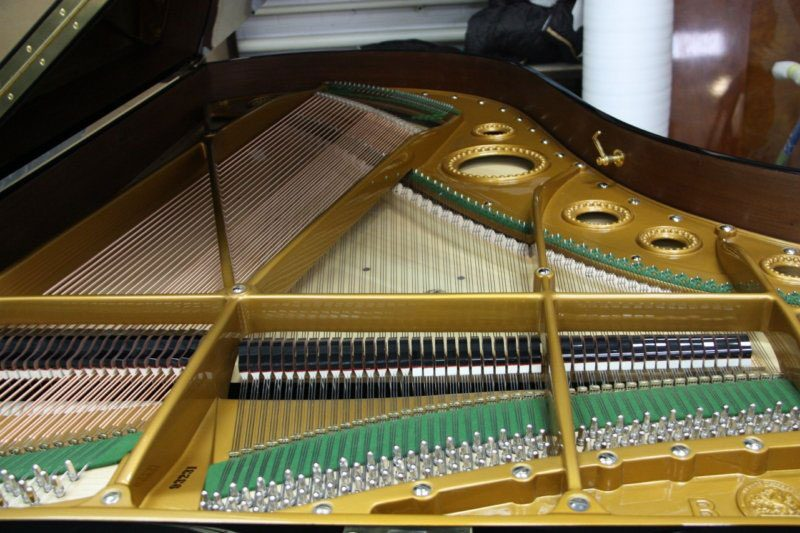 Restauration d'un piano Bechstein modèle 1/2 queue de concert C203