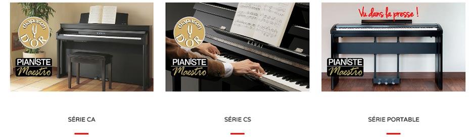 pianos numériques Kawai