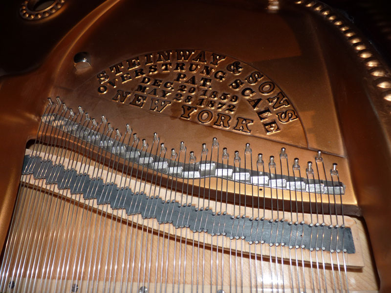 Restauration d'un piano Steinway New-York