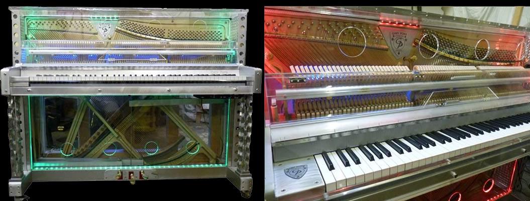 Pianos spéciaux