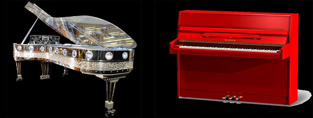 Pianos spéciaux Chez Rossignol Pianos