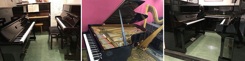 Pianos droits et pianos à queue d'occasion