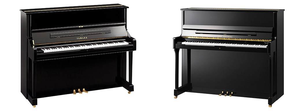 Location de pianos d'interprétation ou professionnel