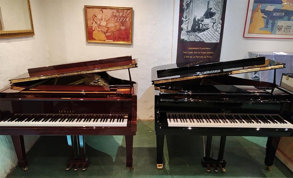 "Yamaha C3 ""Conservatory"" et Boston 178 Performance Édition"
