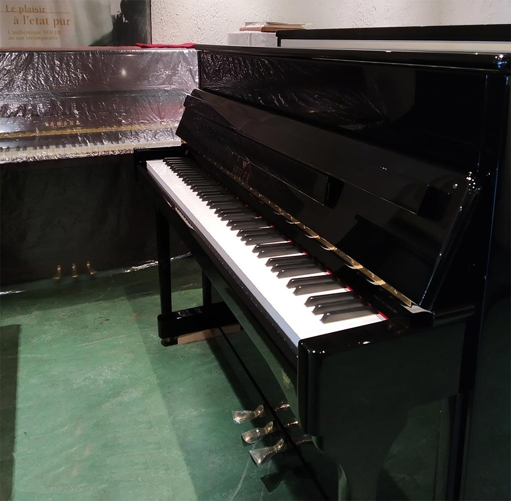 Piano droit Seiler Modèle Ritmo 116 Jubilee