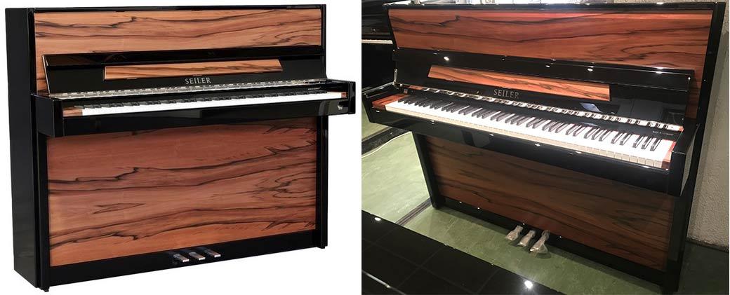 Piano droit Seiler 116 Modern